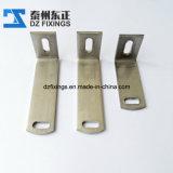 Cornière de marbre d'acier inoxydable pour des systèmes de fixation de revêtement