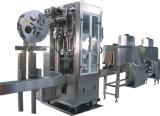 Máquina de etiquetado automática llena de la funda