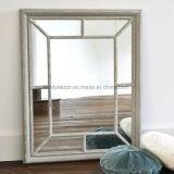 Chic minable miroir de la conception de cadres de fenêtre en bois