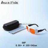 Ce di raduno degli occhiali di protezione di sicurezza di Dirm Lb5 di L-Valutazione 315-532nm di trasmissione 50% di Eyewear 200-532nm di sicurezza di laser