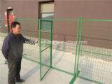 Painel provisório da cerca