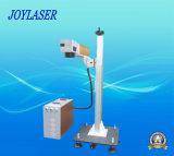 Rfco2 vuelan la máquina de la marca del laser para los productos de papel/plásticos