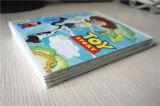 Livre d'exercice français fait sur commande bon marché de cahier de livre À couverture dure de cahier de l'école A4 A5