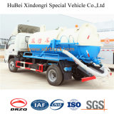 Caminhão de aspiração de águas residuais Euro 4 Fotom com 4cbm com bom design