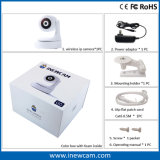 cámara elegante del IP de la red del monitor del bebé de WiFi de la seguridad casera 720p