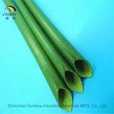 Luvas revestidas de borracha da fibra de vidro do silicone para o chicote de fios do fio