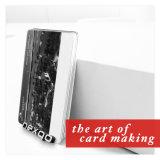 Cartão plástico da listra magnética do PVC do painel de assinatura do baixo preço com laminação