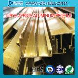 Profilo di alluminio della Libia per il portello scorrevole della stoffa per tendine della finestra
