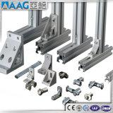 La industria y construcción perfil de aluminio y decoración.