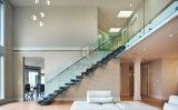 Lamelliertes ausgeglichenes Glas-Treppenhaus löschen