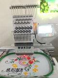Sola máquina automatizada comercial principal del bordado con la pantalla táctil