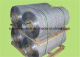 Galvanized/PVC 낮은 탄소 강철에 의하여 입히는 6각형 철사 그물세공
