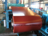 Feuille de fer galvanisée revêtue de couleur / Bobines en acier galvanisé Prepaint