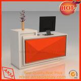 Contador de madera mostrador de recepción Recepción Caja Cajero contador