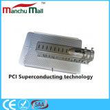 Lampada di via della PANNOCCHIA LED di IP67 100watt con il materiale di conduzione di calore del PCI