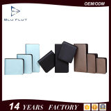 China-Hersteller-spätester Produkt-echtes Leder-Karten-Mappen-Fonds für Verkauf