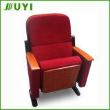 Jy-601f comercial Precio sillas de madera de la Iglesia de los asientos del cine silla plegable