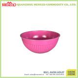 Bacia do plástico da melamina da cor dos doces da alta qualidade do preço de fábrica