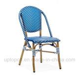 Cadeira de vime de alumínio com diferentes cores para pátio (SP-OC358)