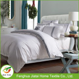 Custom Modern Polyester Cotton Hotel White Bedding Set