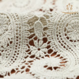 L10004 Jacquard Knitting Nylon / Poliéster / Algodão Tecido de renda