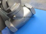 Tipo 304 valvola 200psi/600psi dell'oscillazione di Scrd NPT di ritorno dell'acciaio inossidabile non