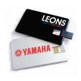 Förderndes Kreditkarte USB-Blitz-Laufwerk-Karte USB-Feder-Laufwerk mit kundenspezifischem Firmenzeichen (EC012)