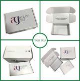 Белая коробка упаковки Mabufacturers гофрированной бумага