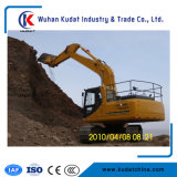 Excavadores medios 15ton de la correa eslabonada con el certificado ISO9001