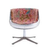 Современный оригинальный промышленный стиль поворотный стул с одним стулом из алюминиевого кубка