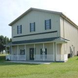 Edificios de acero prefabricados del granero de poste del metal con bajo costo