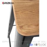 Tamborete de barra industrial de madeira de Xavier Pauchard da réplica (OZ-IR-1007BW)