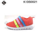 La serie del arco iris embroma los zapatos de la zapatilla de deporte de los deportes