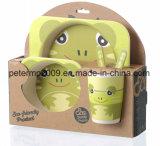 Écologique Cute Cartoon Kids Fibre de bambou Dîner