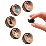 Ultra Mini Wireless Invisible Bluetooth 4.0 intra-auriculaire écouteur intra-auriculaire écouteur casque avec microphone pour iPhone