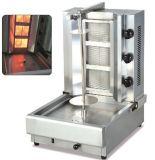 الغاز / الكهربائية دونر كباب آلة، رواتري لحم الخروف سلسلة المحمصة، آلة الشاورما، آلة المشواة