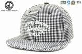 Logotipo de bordado 3D personalizado Flat Hiphop Baseball Snapback Cap