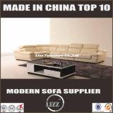 居間の家具(LZ-1332B)のための新しい現代純粋な革ソファー