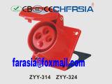 Painel industrial 4p Económica Montado Socket (em linha reta)
