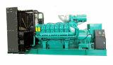 Diesel silencieux Genset de l'engine 1500kVA 1200kw de Googol V16 de technologie des Etats-Unis