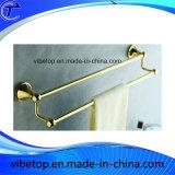 Elegante Toalheiro metal dourado com alta qualidade