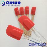 Spatule chaude de silicones de prix usine de qualité de vente