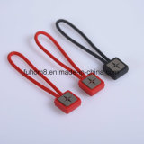 Custom Design H-Quality Garment PU Zipper Puller