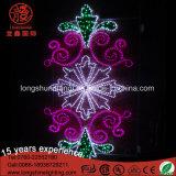 屋外LED 220Vはクリスマスのためのモチーフの通りの妖精の照明を防水する