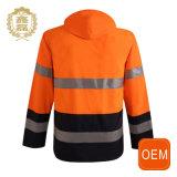 L'OEM arancione impermeabilizza ciao il Workwear di sicurezza di costruzione delle uniformi di forza