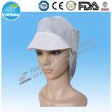 Chapeau non-tissé d'ouvrier de pp avec le chapeau remplaçable maximal d'ouvrier