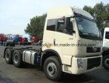 Vrachtwagen 10 van de Tractor FAW 420HP de HoofdVrachtwagen van de Aanhangwagen van het Wiel