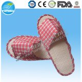 EVA Sole Velour White Slippers Hotel and Hotel Disposable Slipper
