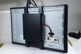 Лучшее качество 32-дюймовый ЖК монитор с сенсорным экраном инфракрасного излучения с металлический корпус