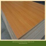 La mejor madera contrachapada de la melamina del color de madera sólida de la calidad de la venta caliente